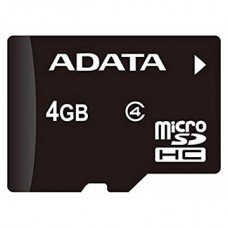ADATA Memóriakártya MicroSDHC 4GB + Adapter CLASS 4
