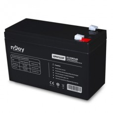 APC (NJOY) GP07122F Akkumulátor 12V/7Ah zárt, gondozásmentes Borne T2