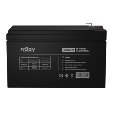 APC (NJOY) HR09122F Akkumulátor 12V, 38.31W, gondozásmentes T2/F2