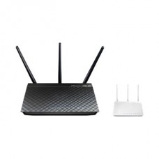 ASUS Wireless Router 450Mbps + 1300Mbps RT-AC66U 3x3MIMO 1x WAN (1000Mbps) + 4x LAN (1000Mbps) + 2 USB port