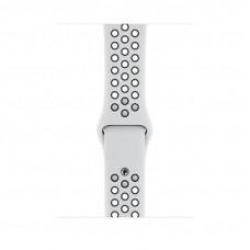 Apple Watch 44mm Nike Band:Pure Platinum/Black Nike Sport Band - S/M & M/L