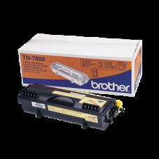 Brother Toner TN-7600, Nagy kapacitású - 6500 oldal, Fekete