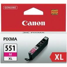 CANON Patron CLI-551M XL, piros, P7250, iP8750, MG5450, MG5550, MG6350, MG6450, MG7150, MX925