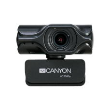 CANYON Webkamera CWC6N, 2K QuadHD Live Streaming, USB 2.0 csatlakozással, autófókusz, fekete