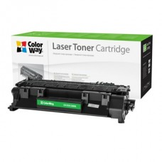 COLORWAY Toner CW-H505/280MX, 6900 oldal, Fekete - HP CE505X (05X)/CF280X (80X); Can. 719H