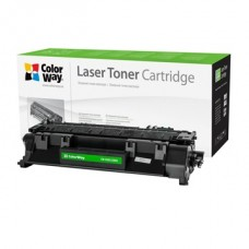 COLORWAY Toner CW-H505/280M, 2700 oldal, Fekete - HP CE505A (05A)/CF280A (80A); Can. 719