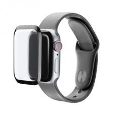 Cellularline Képernyővédő fólia, SPAPPLEWATCH540, üvegfólia, Apple Watch Series 5/4 40mm