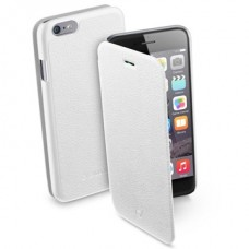 Cellularline Tok, BOOK,  mobiltelefonhoz, könyvszerűen nyitható, fehér, iPhone 6