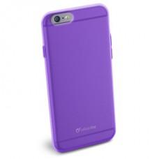 Cellularline Tok, COLOR SLIM, mobiltelefonhoz, gumi, iPhone 6, lila