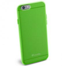 Cellularline Tok, COLOR SLIM, mobiltelefonhoz, gumi, iPhone 6, zöld