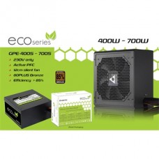 CHIEFTEC Tápegység ECO 500W 12cm ATX BOX 85+ Bronz