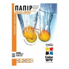 ColorWay Fotópapír Magasfényű, 200 g/m, 13x18, 100 lap