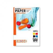 COLORWAY Fotópapír, matt (matte), 190g/m2, A4, 50 lap