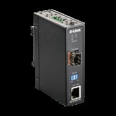 D-LINK Ipari Media Konverter 1x1000Mbps + 1xSFP, DIS-M100G-SW