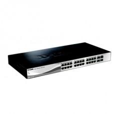 D-Link Switch 24x1000Mbps+4x1000/SFP Smart