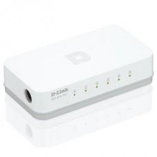 D-LINK Switch 5x100Mbps Műanyagházas Asztali, GO-SW-5E/E