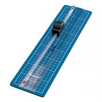 DAHLE 350 Papírvágó (Firm cutting mat and ruler with integrated cutter)