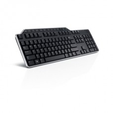 DELL Vezetékes Billentyuzet Hungarian (QWERTY) Dell KB-522 Wired Business Multimedia USB Black HUN (Kit)