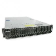 DELL rack szerver PowerEdge C6000 keret NoHDD + 4x DELL penge szerver PE C6220 II NoCPU, NoRAM, NoHDD, NoOS.