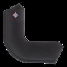 DELTACO GAMING Csuklótámasz GAM-009 159x159x21, Wristpad Corner, corner-shaped wrist support, 21mm height, black