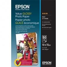 EPSON Fotópapír Value Glossy 10x15, 183 g/m2, 100 sheets