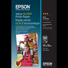 EPSON Fotópapír Value Glossy 10x15, 183 g/m2, 50 sheets