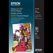 EPSON Fotópapír Value Glossy A4, 183 g/m2, 20 sheets