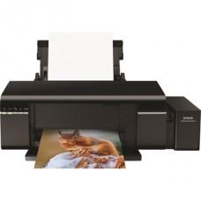 EPSON Tintasugaras ultranagy tintakapacitású nyomtató L805 színes, USB/WiFi, A4 FF 5,1 lap/perc, CD/DVD nyomtató