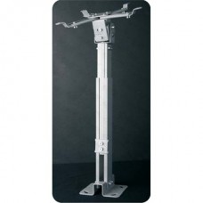 FUNSCREEN mennyezeti rögzítő projektor konzol 430-650 mm-ig állítható, fehér