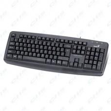 GENIUS Vezetékes Billentyűzet KB-110X USB HUN Fekete