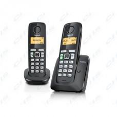 GIGASET ECO DECT Telefon A220 DUO fekete Magyar menü