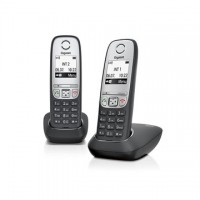 GIGASET ECO DECT Telefon A415 DUO fekete