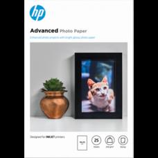 HP Fotópapír ADVANCED GLOSSY PHOTO PAPER 10X15/25, 250g/m2 BORDERLESS