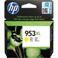 HP Patron F6U18AE (HP No953XL) Officejet Pro, sárga, 1600/oldal