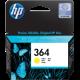 HP Patron No364 C5380/C6380/D5460, Sárga (Yellow) 300/oldal
