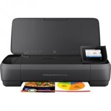 HP Tintasugaras Nyomtató Officejet 252 mobil MFP, USB/Háló/Wi-Fi, A4, 8lap/perc(ISO), Hordozható, Akku