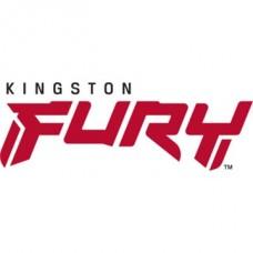 KINGSTON FURY Memória DDR4 32GB 2666MHz CL13 DIMM (Kit of 2) 1Gx8 Renegade Black
