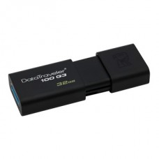 KINGSTON Pendrive 32GB, DT100G3 USB 3.0 (40/10)