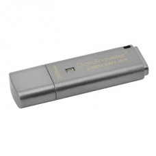 KINGSTON Pendrive 32GB, DT Locker+ G3 USB 3.0, fém, Titkosított