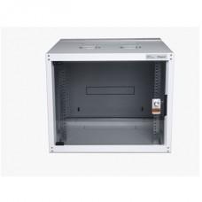LEGRAND hálózati rackszekrény, 19` 12U SZÉL: 600 MÉLY: 600 MAG: 626 szürke egyrészes, üvegajtós készre szerelt MAX: 65