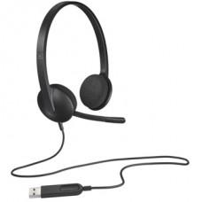 LOGITECH Fejhallgató H340 USB, Mikrofon
