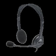 LOGITECH Fejhallgató 2.0 - H111 Vezetékes Mikrofonos