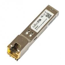 MIKROTIK SFP modul - S-RJ01 -  RJ45, 1Gbit LAN, 1250Mbit/s, 100m, Copper