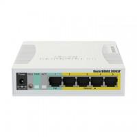MIKROTIK Switch 5x1000 Mbps + 1xSFP+ PoE
