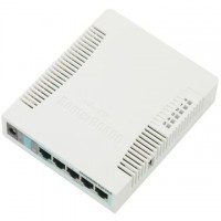 MIKROTIK Vezetékes Router RouterBOARD RB951G-2HnD Level 4-el