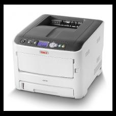 OKI Lézer LED nyomtató C612dn színes, 256MB, USB/Háló, A4 FF 36lap/perc, 34 lap/p szines, 600x1200 dpi, duplex