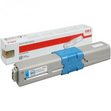 OKI Toner C510/C530/C511/C531/MC561/MC562 kék 5000/oldal