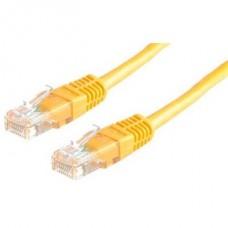 ROLINE Patch kábel ROL 21.15.0542 UTP CAT.5e 2m sárga
