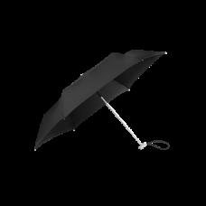 SAMSONITE Esernyő 108962-1041, 3 SECT. MANUAL FLAT (BLACK) -ALU DROP S