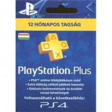 SONY PSN PlayStation Plus 365 napos feltöltőkártya (PS4), új cikkszám